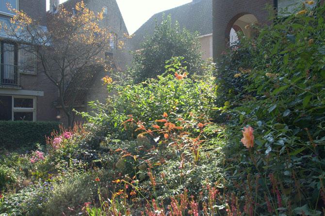 Aldo van eycktuin buurttuin in de openbare ruimte harry pierik tuinontwerp for Terras op een helling