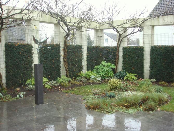 Villatuin in stiphout bij helmond harry pierik tuinontwerp - Zoals mediterrane ...
