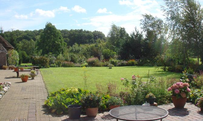 herinrichting van een landelijke tuin te leutingewolde - harry